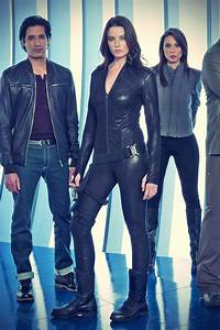 Rachel Nichols Continuum season 2 promo pics - Leather ...