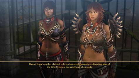 dungeon siege 3 rajani rajani pictures information from the web