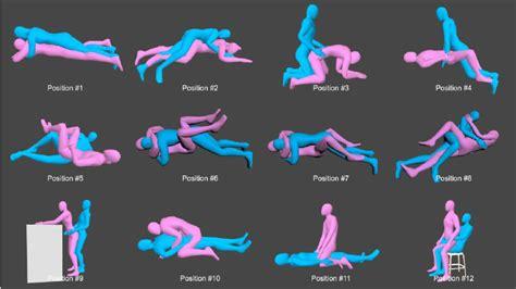 twelve common sexual positions    study