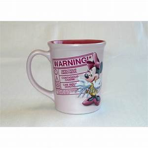 Minnie Mouse Tasse : disney minnie mouse warning coffee mug ~ Whattoseeinmadrid.com Haus und Dekorationen