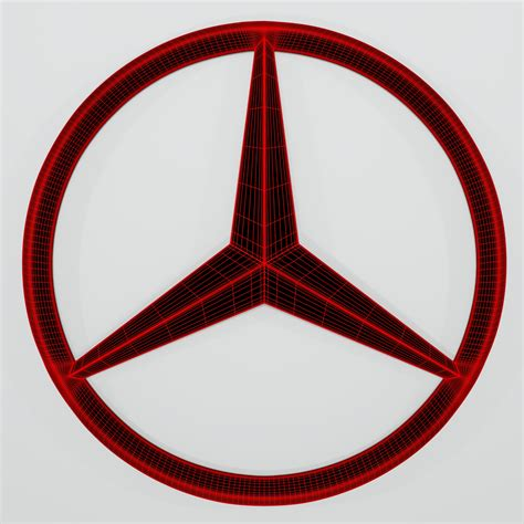 Mercedes Logo by Mercedes Logo Flatpyramid