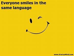 Smile Quotes - ... Same Smile Quotes