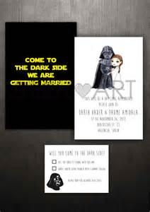 Star Wars Wedding Invitation Printable
