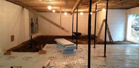 isolation plancher de sous sol