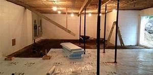 Isoler Sous Sol : humidit mur sous sol enterr forum ma onnerie traitement de l 39 humidit des murs en cuvelage ~ Melissatoandfro.com Idées de Décoration