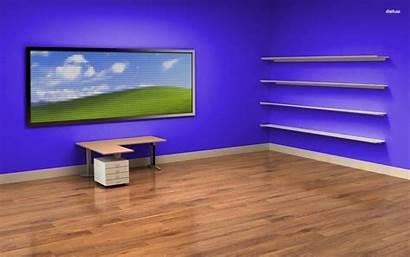 Desk Desktop Shelves Shelf Empty Office Wallpapers