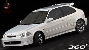 Honda Civic Type R 1997 : 3d honda civic type r 1997 ~ Medecine-chirurgie-esthetiques.com Avis de Voitures