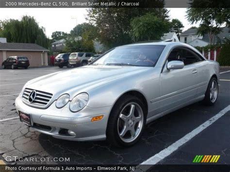 2000 Mercedes Cl 500 by Brilliant Silver Metallic 2000 Mercedes Cl 500