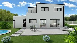 Maison Sans Toit : maison contemporaine 3 chambres sans garage mtc ~ Farleysfitness.com Idées de Décoration