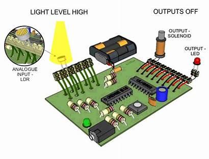 Input Circuit Analogue Dependent Resistor Programming Diagram