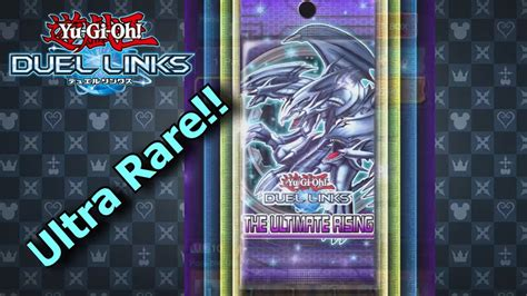 duel links yugioh pack opening