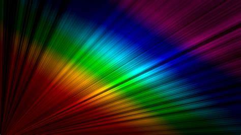 Rainbow On The Desktop Hd Wallpaper Wallpaper Download
