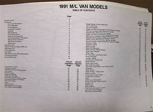 1991 Chevrolet Electrical Wiring Diagram Service Manual