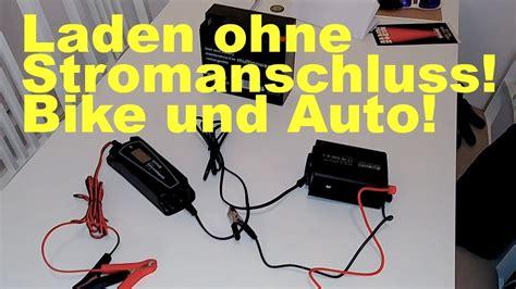 autobatterie laden ohne ausbau motorrad oder autobatterie laden ohne stromanschluss in der garage