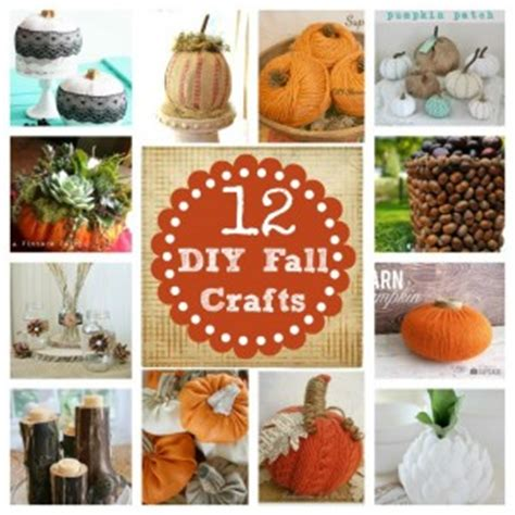 10 Easy Fall Crafts