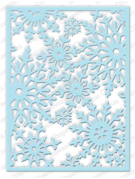 die211 l snowflake background impression obsession dies