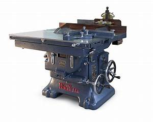 Vintage Machinery: New Life for Old Iron - FineWoodworking