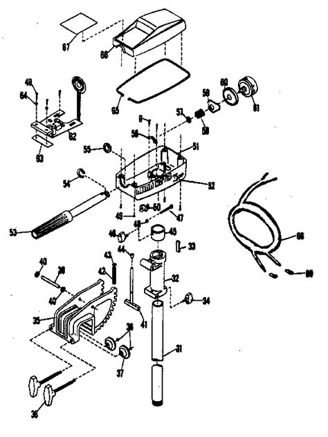 Minn Kota Endura Parts Diagram Automotive