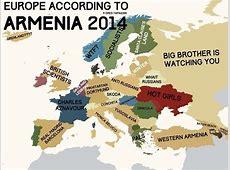 Europe according to