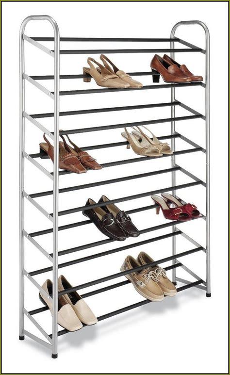 wall mounted shoe racks for closets home design ideas