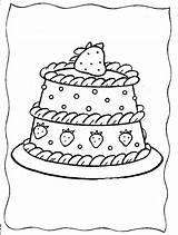 Coloring Strawberry Pages Cake Shortcake Colouring Printable Adult Cupcake Sheets Strawberries Cream Ice Popular Preschool Birthday Coloringhome sketch template