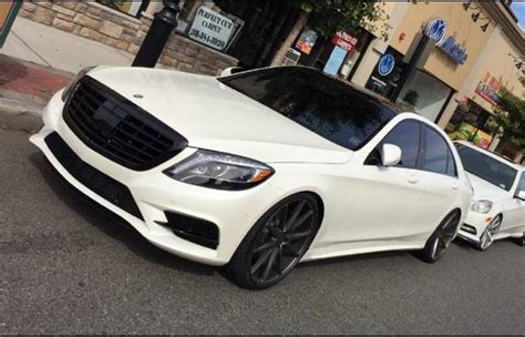 mercedes benz  grill professionally painted black