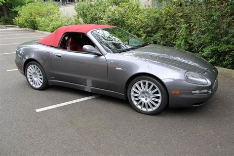 Maserati Spyder For Sale by 2002 Maserati Cambiocorsa For Sale 1964345 Hemmings