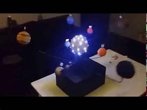 Solar System model Homemade Moving - YouTube