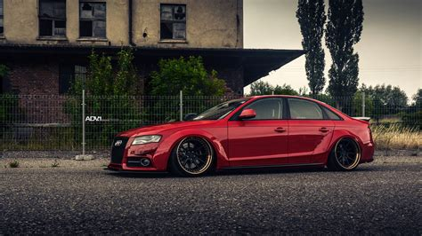 Red Audi A4 Widebody Build