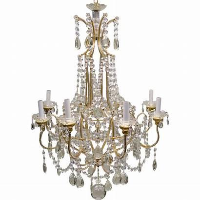 Chandelier Crystal Beaded Lights Italian Transparent Prism