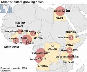More and More Africans Live in Cities