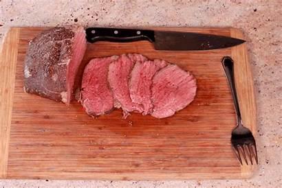 Meat Beef Steak Roast Eye Round Slice