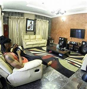 nigerian celebrity living rooms that will make you envious With interior decoration for sitting room in nigeria