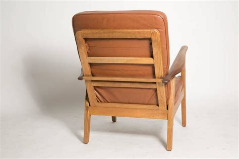 Leather Cigar Chair Attributed To Hans J. Wegner For Sale Small Bathroom Shower Remodel Ideas Tile Cleaner Products 1950s Gray Vanity Light Designs Images New Design For Window Curtains
