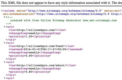 How Update Sitemap Xml For Google Bing All Web Pro