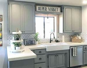 Kitchen cabinites gray shaker style kitchen cabinets for Kitchen colors with white cabinets with inspection sticker near me