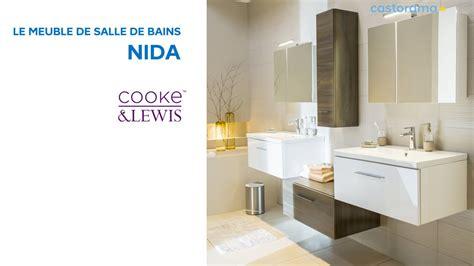 meuble de salle de bains nida cooke lewis  castorama youtube