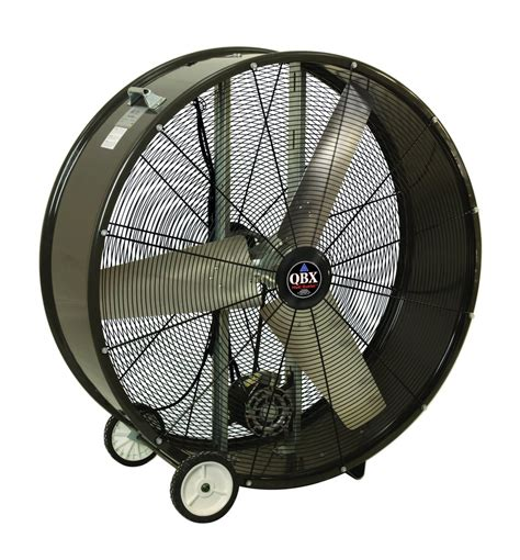 industrial fans direct com qbx heat buster portable drum fan 2 speed 42 inch 13000