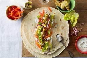 Recette Avec Tortillas Wraps : recette de wrap de poulet marin aux 3 poivres facile et rapide ~ Melissatoandfro.com Idées de Décoration