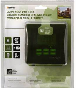 Outdoor 7 Day Heavy Duty Digital Outlet Energy Efficient