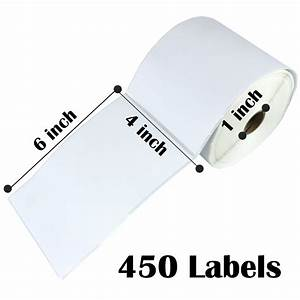 direct thermal 4x6 shipping labels 10 rolls of 450 zebra With 4x6 mailing labels