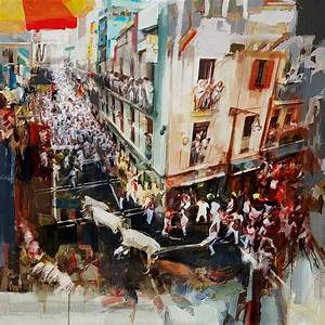 Spanish Culture 11 Painting by Corporate Art Task Force