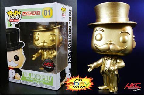Hunter Knight Customs blog: On Ebay now: Custom Gold Funko ...