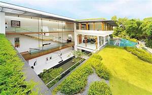 Tropical Bungalow-Inspired Residence In Singapore By Guz ...