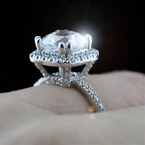 Custom design your own man made diamond engagement ring for Custom designed wedding rings