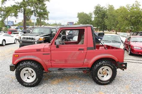 jeep suzuki samurai for sale suzuki samurai for sale carsforsale com