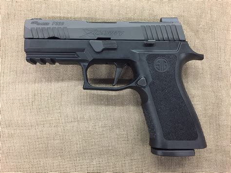 Sig Sauer P320 Xcarry 9mm 17+1 Capacity Night Sight
