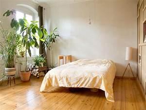 Pflanzen Luftreinigung Schlafzimmer : minimalistische schlafzimmer einrichtung mit vielen gr nen pflanzen parkettboden und hohem ~ Eleganceandgraceweddings.com Haus und Dekorationen