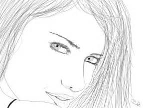 Easy People Drawings Sketches