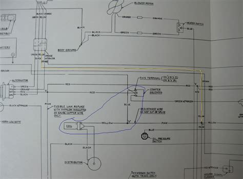 1974 Amc Javelin Wiring Diagram by 1974 Alternator Wires The Amc Forum Page 1